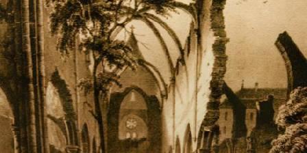 Abbaye du Val des Choues Les ruines de l'église avant la révolution