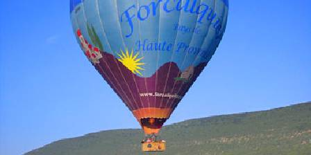 La Petite Campagne Départ vol en montgolfière à 5mn