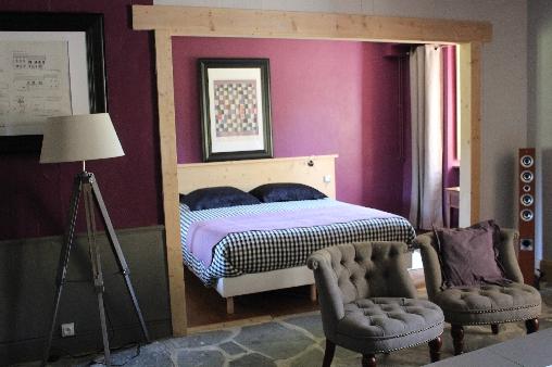 Chambre d'hote Haute-Loire - salle de séjour