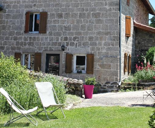 La maison et son jardinet