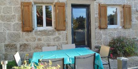Gite Les Fermes du Château - Gîte le Cantou > la terrasse extérieure