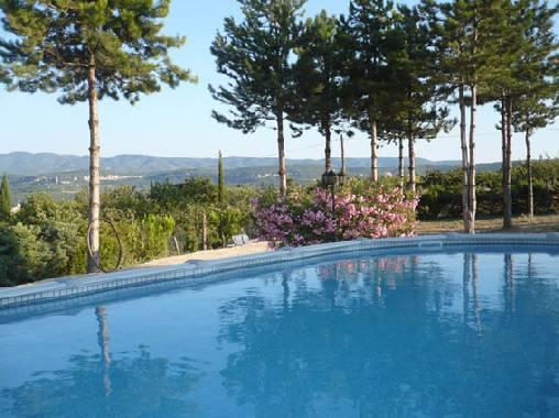 Chambre d'hote Vaucluse - piscine