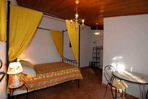 Chambre d'hote Vaucluse - chambre tournesol