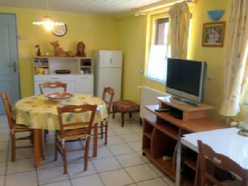 Gîte chez Josy La salle à manger