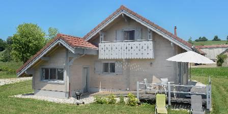 Gite Chalet Le Sapin > chalet façade sud