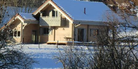 Chalet Le Sapin Chalet en hiver