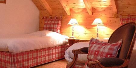 Chalet Le Rebberg Chambre sous les toits 2 lits de 110cm