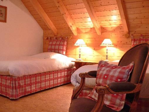 chambre sous les toits 2 lits de 110cm