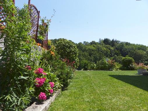 Jardin côté Est