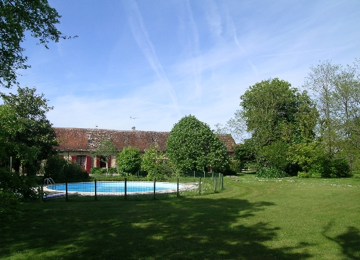 Chambre d'hote Dordogne - le parc côté sud