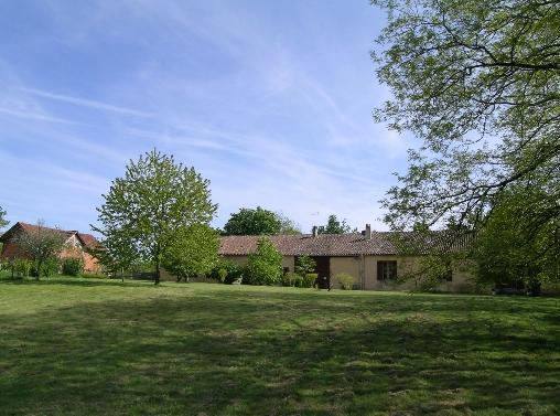 Chambre d'hote Dordogne - le parc