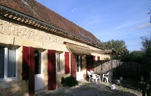 Chambre d'hote Dordogne - entrée du cantou