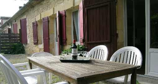 Chambre d'hote Dordogne - terrasse du Cantou