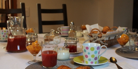 La Maison de Jocelyne Petits déjeuners