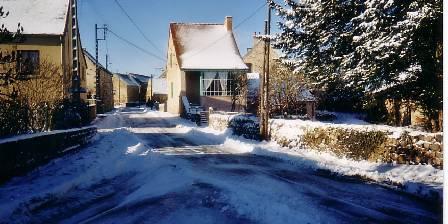 Ancienne Maison Lagrange Paysage pendant l'hiver