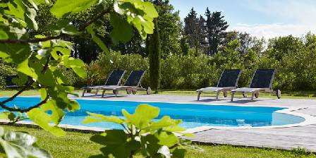 Bed and breakfast Au Coin des Figuiers > Garden and swimming pool