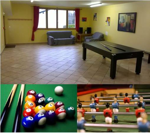 bed & breakfast Puy-de-Dôme - Game room