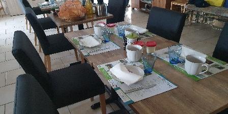 Entre Dolmens et Fontaines Notre salle à manger