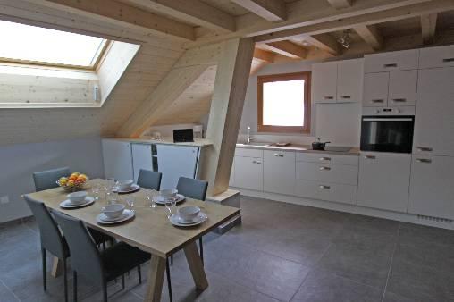 Chambre d'hote Haute-Savoie - L'Arclosan : Cuisine et salle à manger