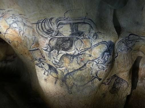 peinture rupestre caverne du pont d'Arc