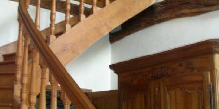 Les Chambres des Fromentaux Escalier d'accès aux chambres