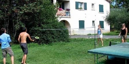 Gîte Syrah Vogüé Ardèche Terrain de jeux