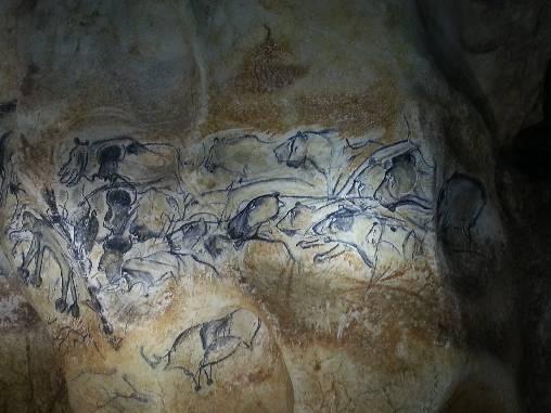peinture caverne du Pont d'Arc