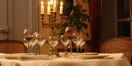 Le Chai de Marguerite La table d'hôtes en hiver