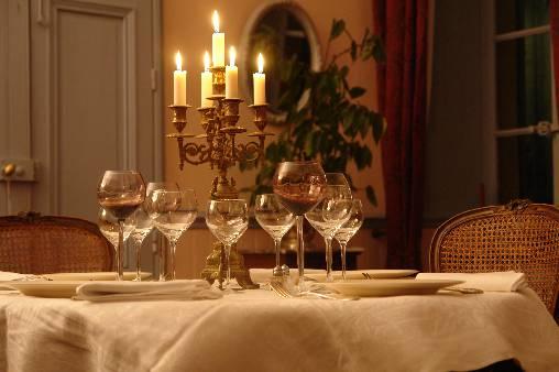 La table d'hôtes en hiver