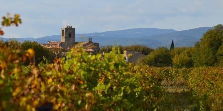 Le Chai de Marguerite L'automne sur notre village