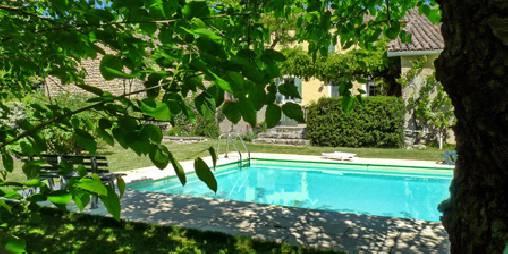 Chambre d'hote Vaucluse - La piscine
