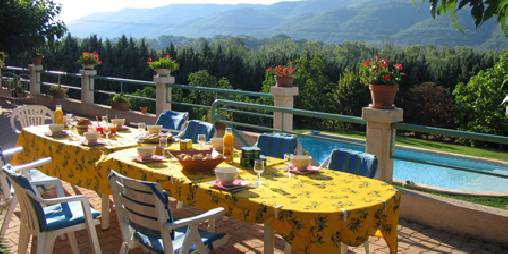 Chambre d'hote Alpes de Haute Provence - petit déjeuner