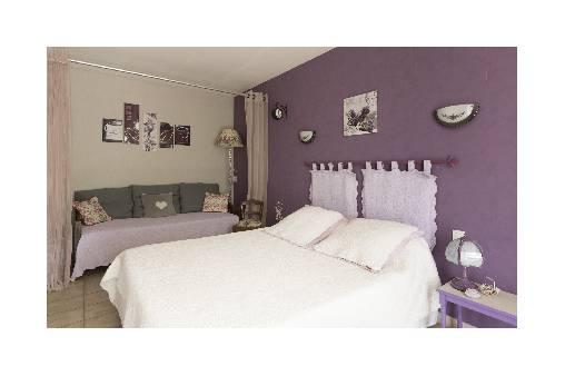 Chambre d'hote Alpes de Haute Provence - chambre lavande