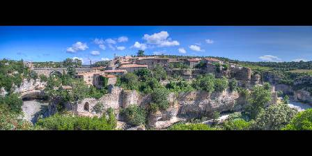 Maison Matisse Minerve (20km) : Small medieval village built on a rock