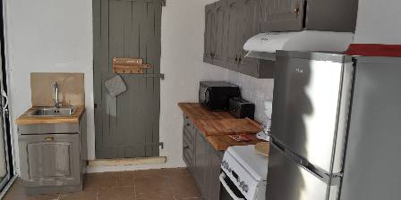 La Lézardière Borie's kitchen