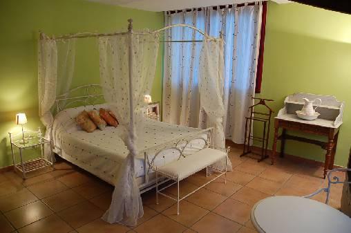 Chambre d'hote Vaucluse - chambre orchidée
