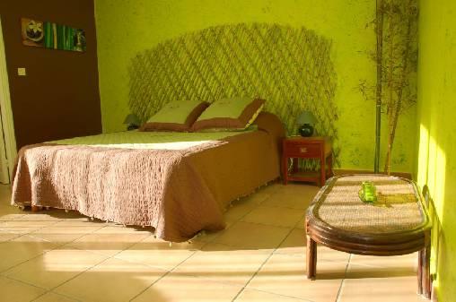 Chambre d'hote Vaucluse - chambre bambou