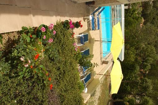 Chambre d'hote Vaucluse - vus sur piscine