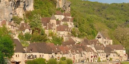 Gîtes du Village en Périgord  vue sur la roque gageac