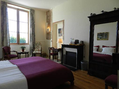 bed & breakfast Creuse - Chambre Adolphine