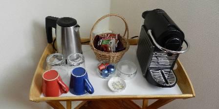 Villa Vallière Nespresso et thé