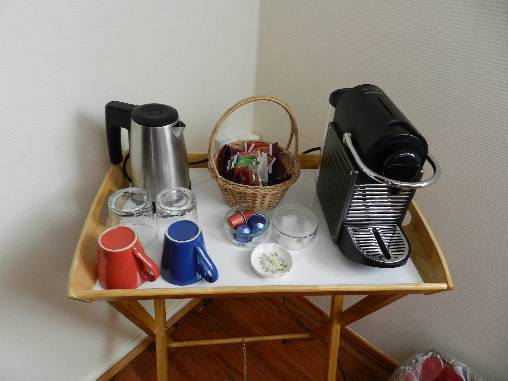 bed & breakfast Creuse - Nespresso and tea
