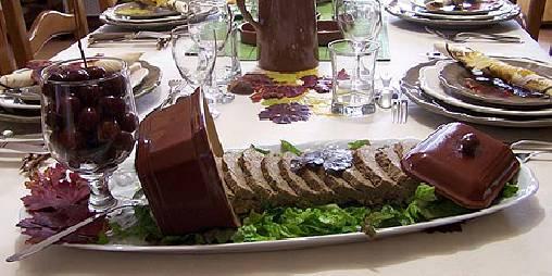 Table d'hôtes cuisine du terroir de Provence