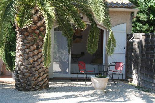 Chambre d'hote Gard - Terrasse privative