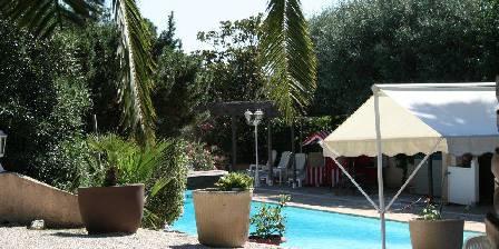 Bed and breakfast Mas des Petits Loups > Vue sur piscine