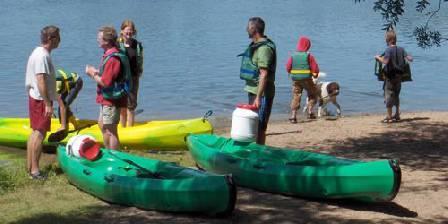 Domaine du Bourg Location kayak sur place