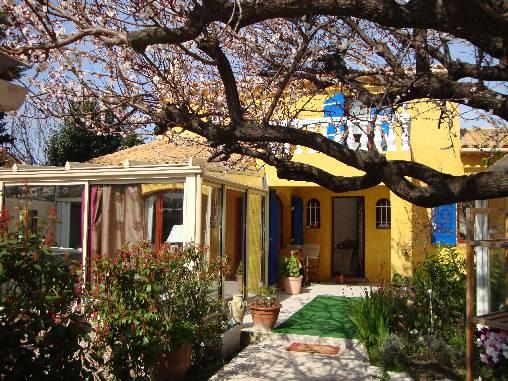 la maison Soleil Bleu