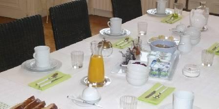 Chateau de Percy Petit déjeuner