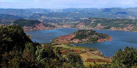 Clos des Coustoulins Le Lac du Salagou