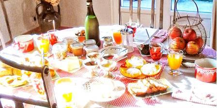 Les Trésors de Malle Mialle Petit déjeuner